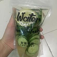 青瓜柠檬排毒水#自制饮料#