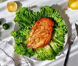 蒜香煎鸡胸#春天肉菜这样吃#的做法