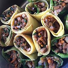 多彩蔬菜卷
