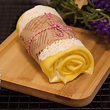 #换着花样吃早餐#毛巾卷蛋糕