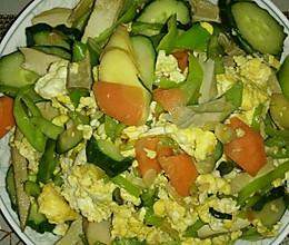鸡蛋黄瓜豆腐干的做法
