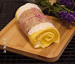 #换着花样吃早餐#毛巾卷蛋糕的做法
