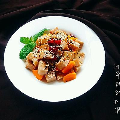 蔓越莓烩冻豆腐