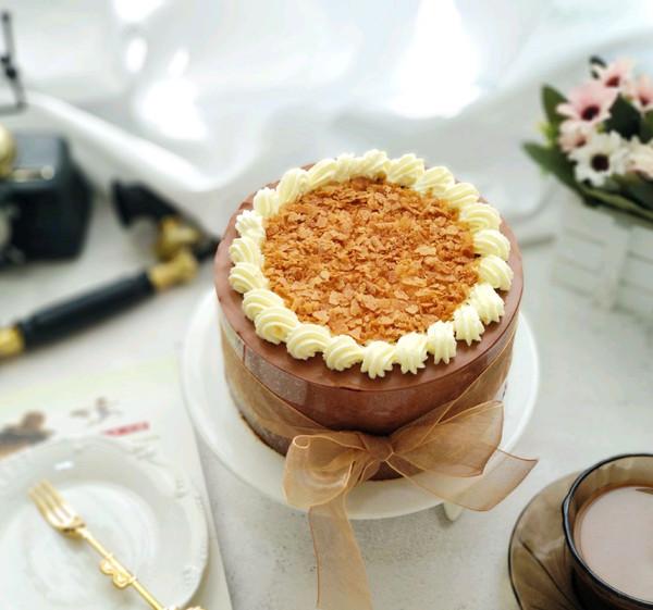 丝滑巧克力慕斯蛋糕的做法