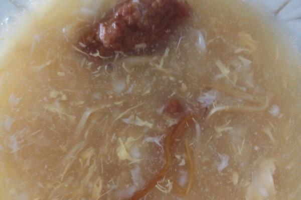火腿玉米羹珍珠汤的做法