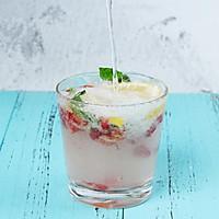 夏日特饮樱桃莫吉托柠檬水的做法图解4