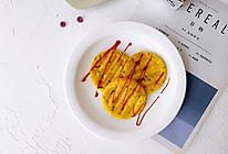 美味卷心菜鳕鱼虾皮蛋饼的做法