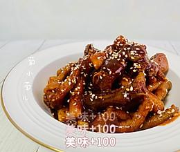 韩式辣鸡爪 好吃到舔手指的做法