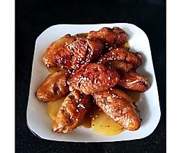 私房蜜汁烤鸡翅的做法