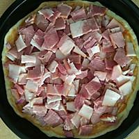 6寸培根披萨的做法图解9