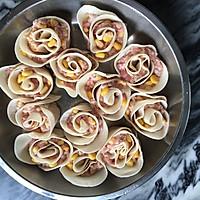 玫瑰花卷饺子的做法图解7