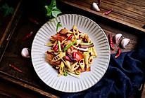 #家常菜#春笋炒酱肉的做法