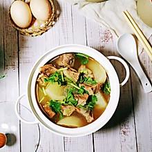 #合理膳食 营养健康进家庭#白萝卜牛腩汤