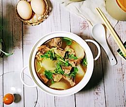 #合理膳食 营养健康进家庭#白萝卜牛腩汤的做法