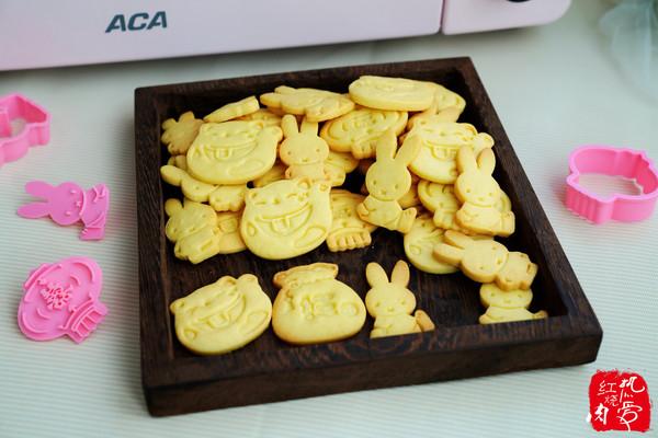 卡通黄油饼干的做法