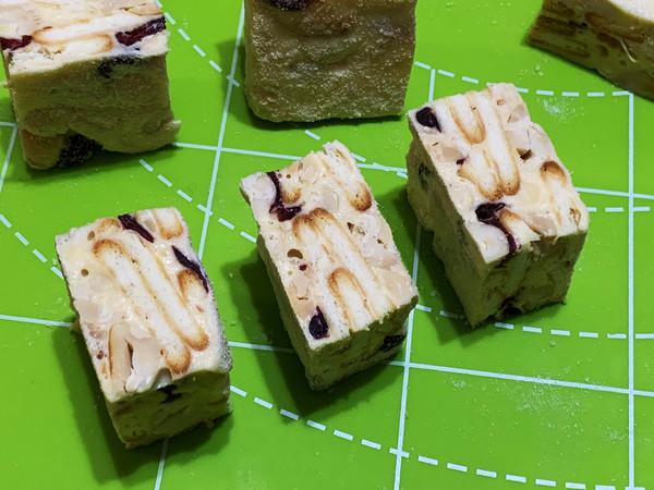 花生米版原味雪花酥的做法