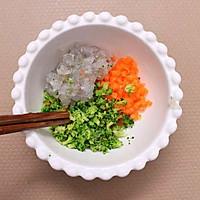 西兰花鲜虾蛋卷 宝宝健康食谱的做法图解5