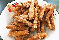 糖霜芝麻江米条,闲散时间自制零食的做法