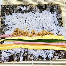 #太太乐鲜鸡汁玩转健康快手菜#寿司(简单版)