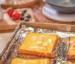一片吐司变成香甜的【岩烧奶酪片】外酥内软百吃不厌,可当早餐!的做法