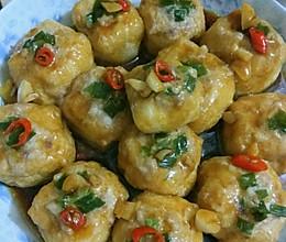 酿豆腐泡的做法