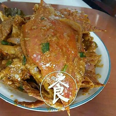印度风味正宗咖喱螃蟹