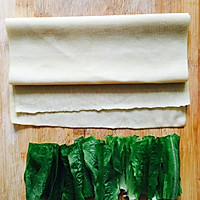 【豆皮蔬菜卷】把路边摊做成私房菜~ 家庭版铁板烤串的做法图解1