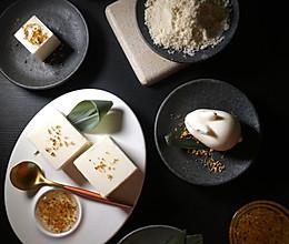 桂花杏仁豆腐 - 绵密嫩滑 满口留香的做法