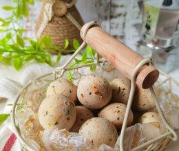 #糖小朵甜蜜控糖秘籍#黑芝麻麻薯球!一口一个香脆有嚼劲!的做法