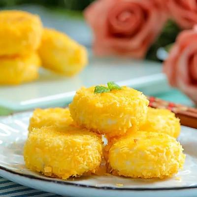 香甜酥軟山藥餅 寶寶輔食食譜