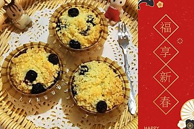 金宝顶蓝莓爆浆玛芬