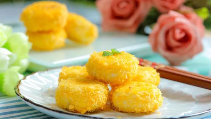 香甜酥软山药饼 宝宝辅食食谱