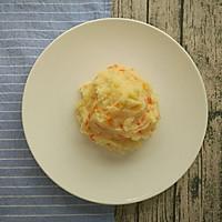 日式土豆泥+荷兰豆香肠便当,今天不想吃米饭!的做法图解3