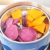 紫薯南瓜月饼的做法图解2