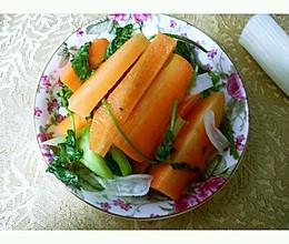 腌胡萝卜的做法