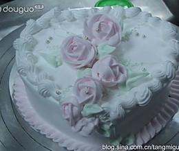心型蛋糕的做法