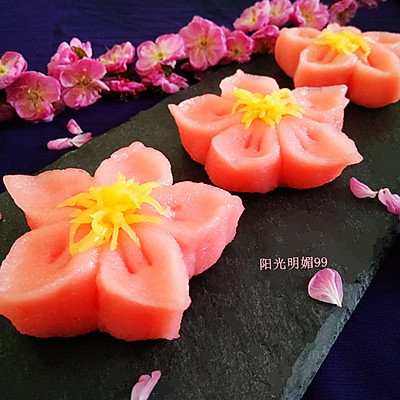 樱花和果子