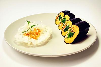 红薯紫菜卷