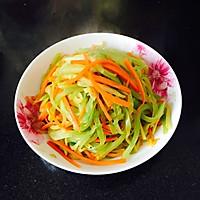 清炒莴笋丝的做法图解4