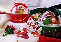 网红圣诞抱抱桶蛋糕的做法