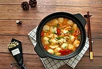 暖身番茄鱼片鱼丸汤#kitchenAid的美食故事#的做法