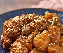 酱香土豆排骨的做法