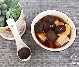 #520,美食撩动TA的心!#黑蒜炖瘦肉的做法