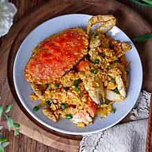 黄金面包蟹#新年开运菜,好事自然来#