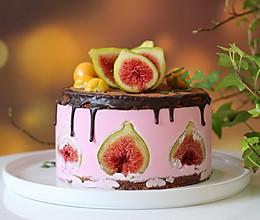 无花果巧克力慕斯蛋糕的做法