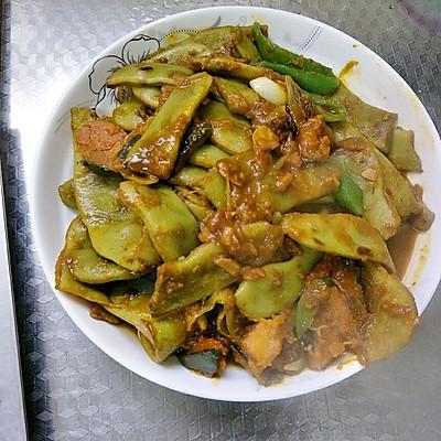 东北炖菜~南瓜炖豆角