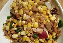 玉米兔丁的做法
