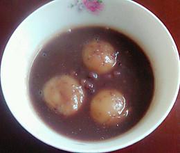 红豆汤圆的做法