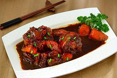 川菜-红烧牛尾(详解教程)