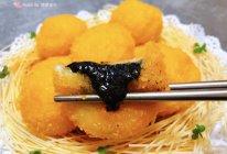 #元宵节美食大赏#炸黑芝麻汤圆的做法